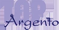 Top argento Logo